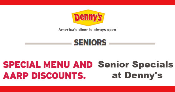 Senior Specials at Denny's