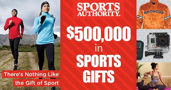 Win $500,000 In Sports Gifts