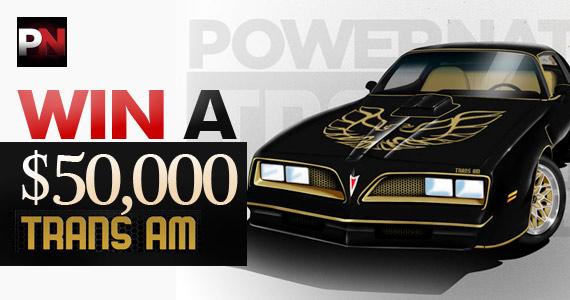 Win A $50,000 Trans Am