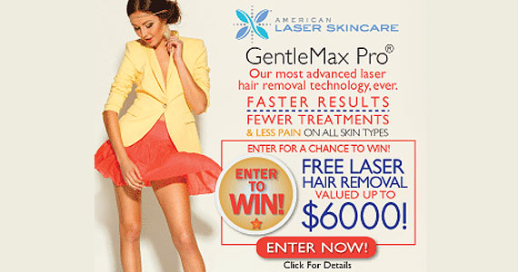 Win $6000 Worth Of Laser Hair Removal