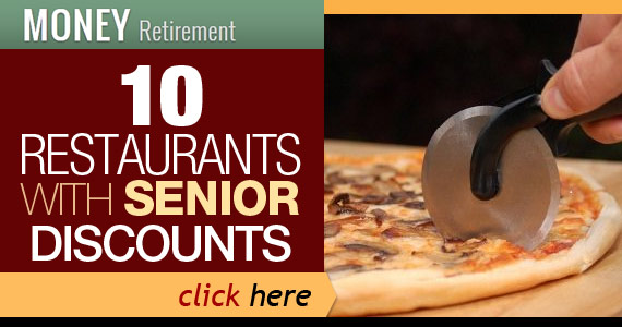 10 Restaurants With Senior Discounts