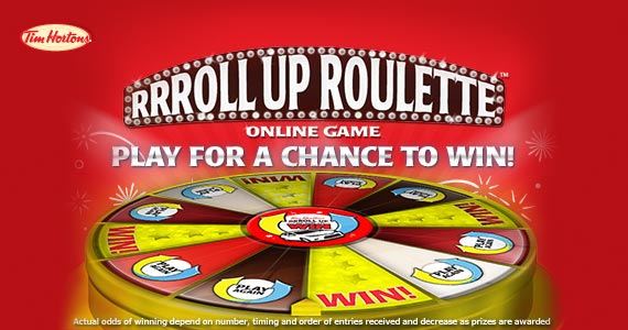 RRRoll Up Roulette Online Contest