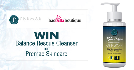 Win Balance Rescue Cleanser from Premae Skincare