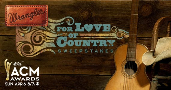 Wrangler For the Love of Country Sweepstakes