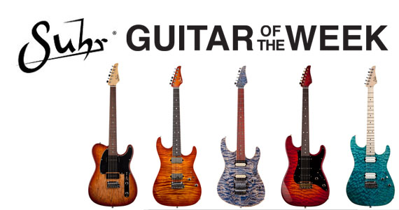 Suhr Guitar of the Week Contest