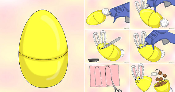 How to Make Easter Egg Bunnies