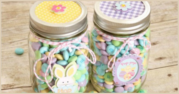 Mason Jar Easter Treat Gifts From Create.Craft.Love.