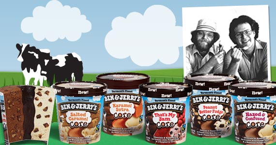 Want the latest scoop on all things Ben & Jerry's?