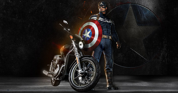 Win A Custom Captain America Harley