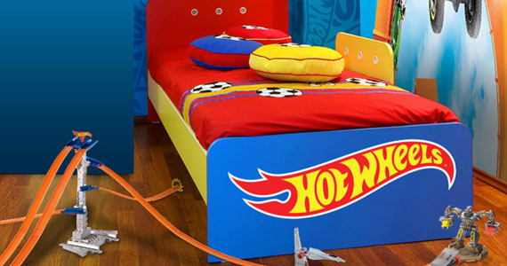 Win A Hot Wheels Room Makeover