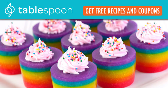 Get A Free Rainbow Recipe Book From Tablespoon