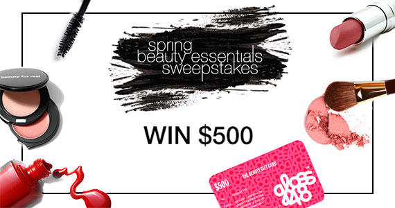 Win $500 In Beauty Products