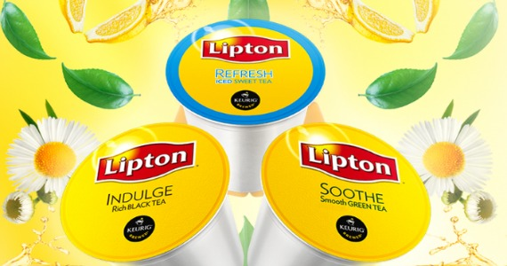 Free Sample of Lipton K-Cups