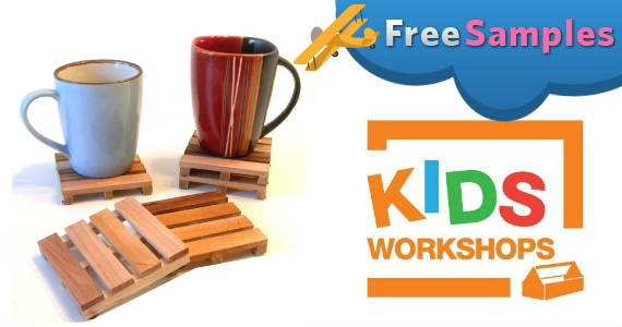 Build A Pallet Coaster At Home Depot