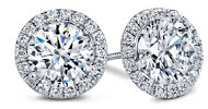 Win $5,000 Diamond Halo Earrings