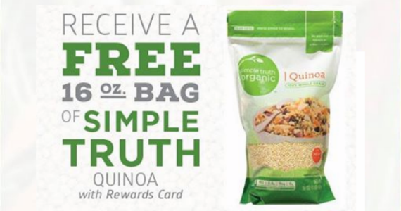 Free Bag Of Simple Truth Quino From Ralphs