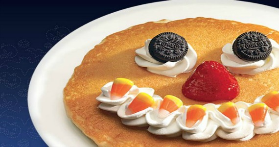 Free Scary Face Pancake From IHOP