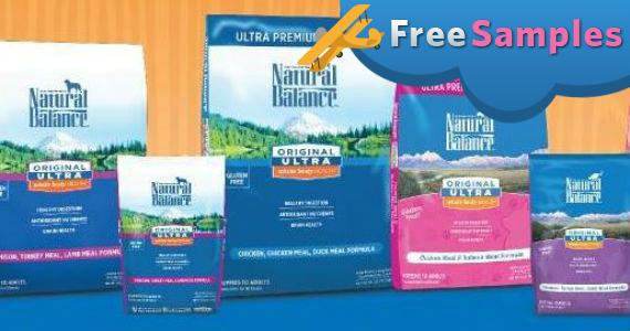 Free Natural Balance Pet Food Sample
