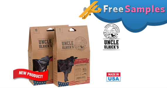Free Sample Of Uncle Ulrick's Jerky For Dogs