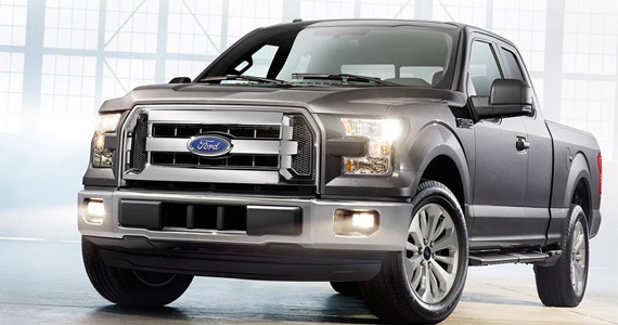 Win A 2015 Ford F‑150