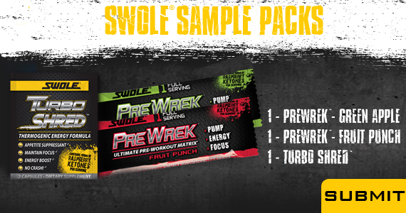 Swole Sports Nutrition Sample Pack