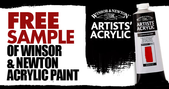 Free Sample Of Winsor & Newton Acrylic Paint