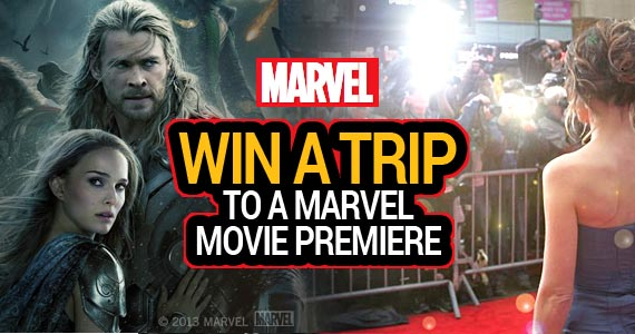 Win a Trip to a Marvel Movie Premiere