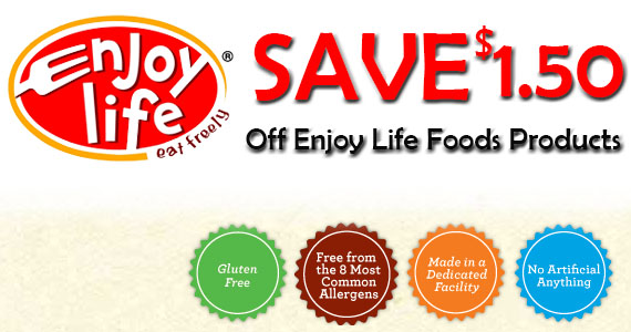 Save On Enjoy Life Foods Products