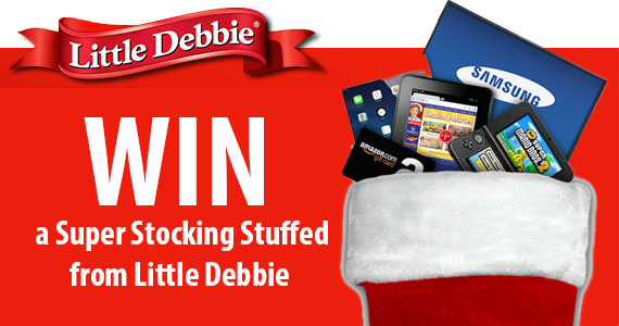 Win a Super Stocking Stuffed from Little Debbie