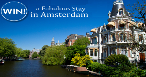 Win a Trip to Amsterdam PLUS £5,000 to Spend