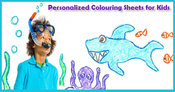 Personalized Colouring Sheets for Kids