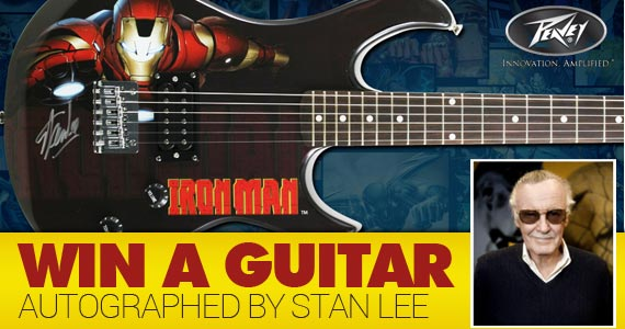Win A Guitar Autographed By Stan Lee