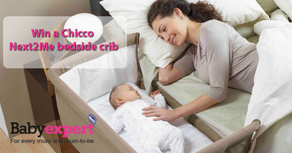 Win a Chicco Next2Me Bedside Crib