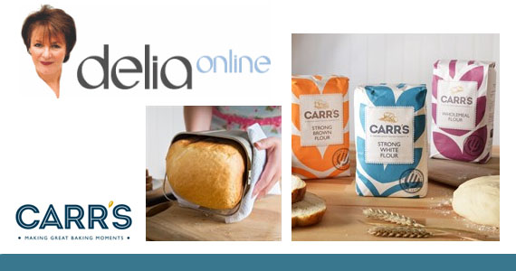 Win a Supply of Carr's Flour & a Panasonic Breadmaker